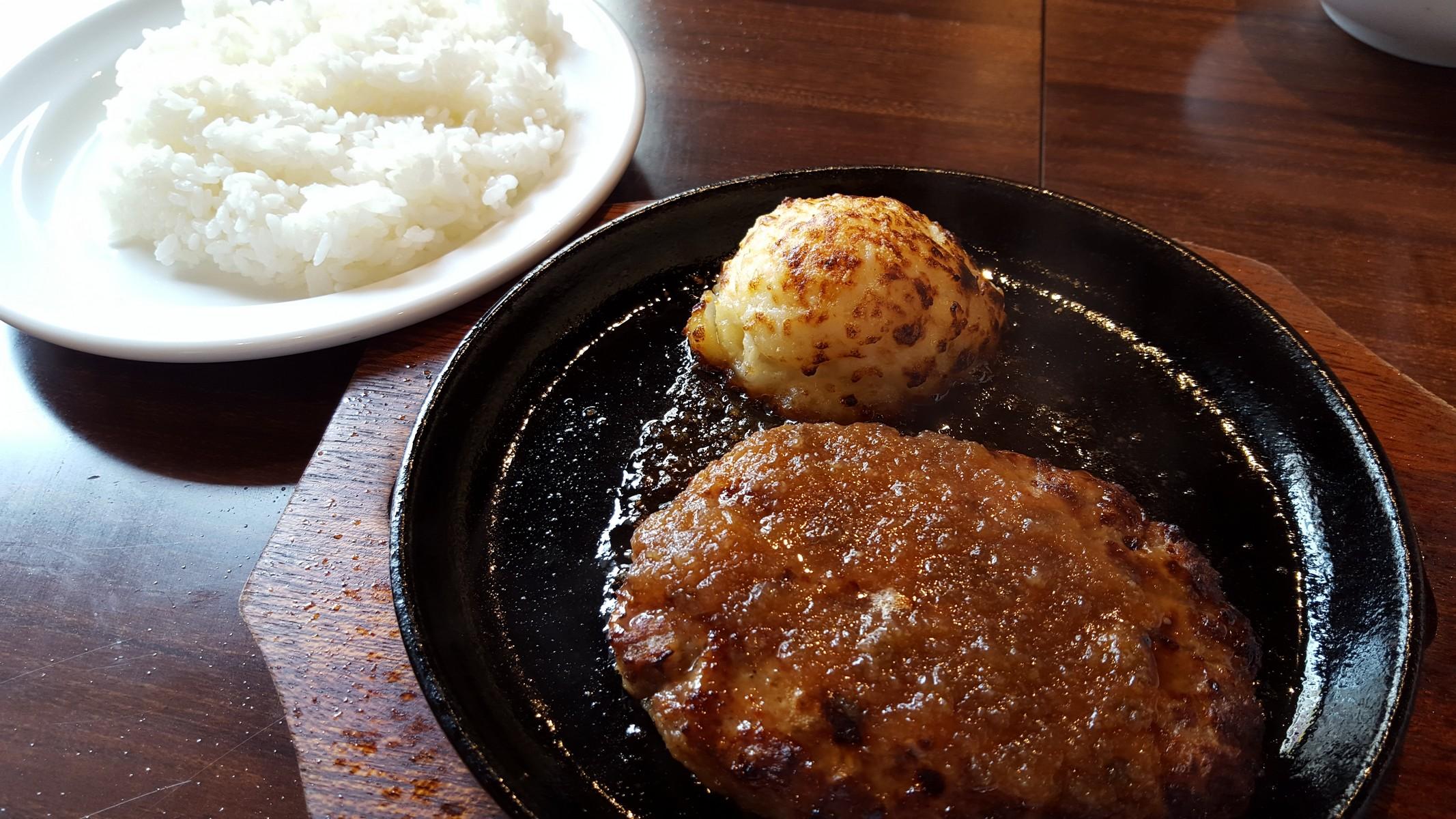 ハンバーグステーキセット【Beco2神田駅前店/神田】