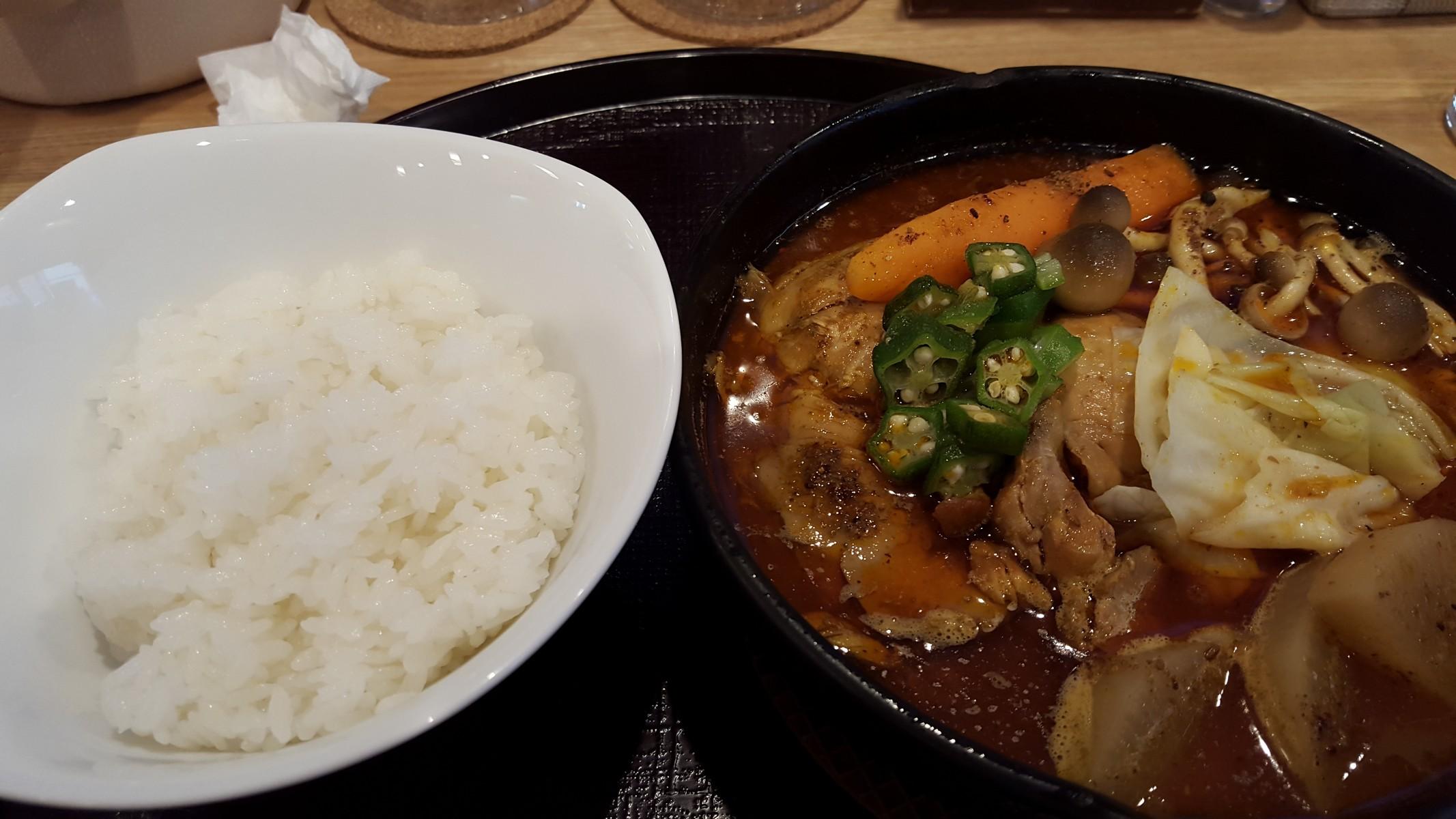 スープカレー【スープカレー米KURA/淡路町】