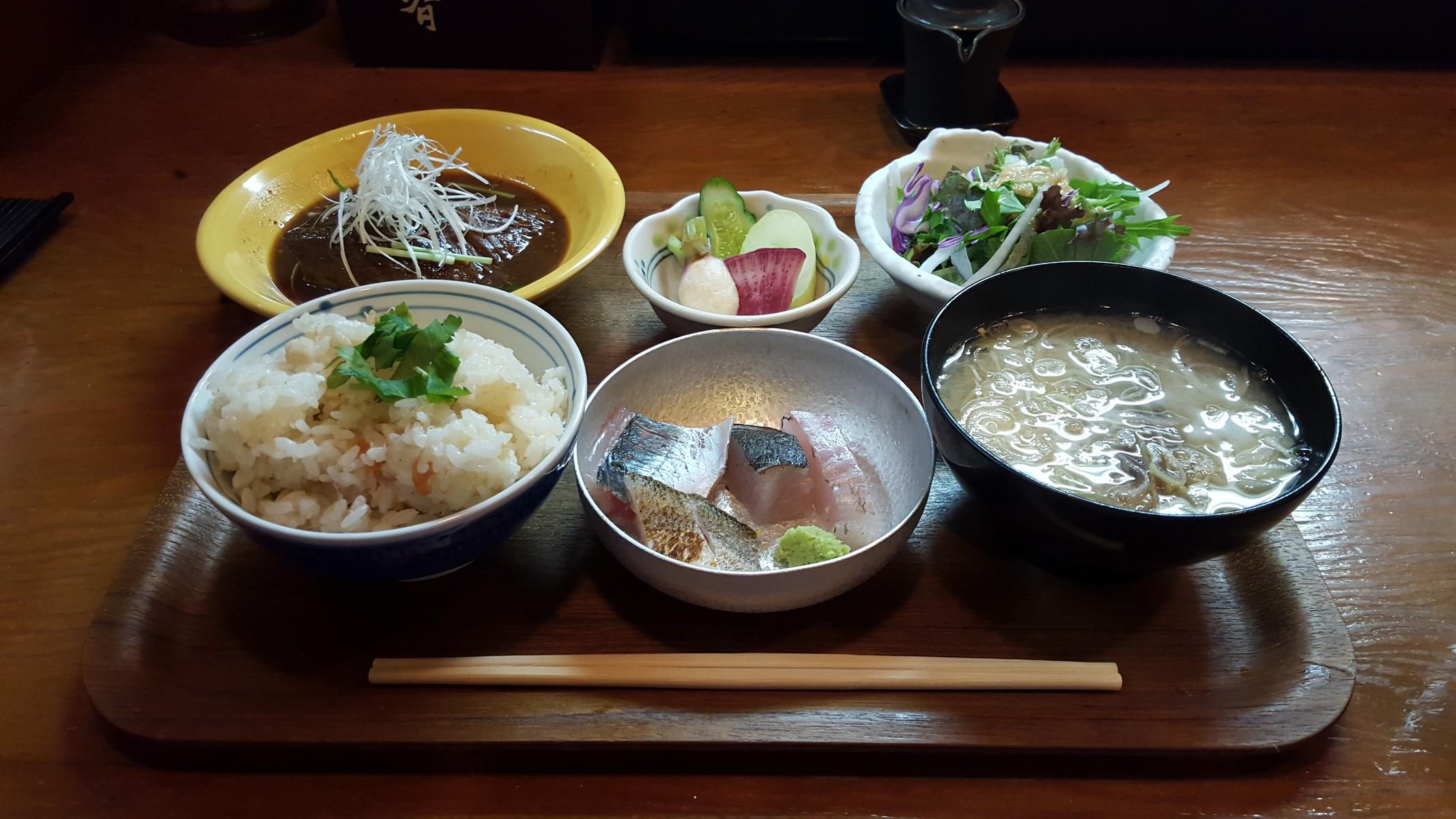 鯛めし定食【尾辰/銀座】