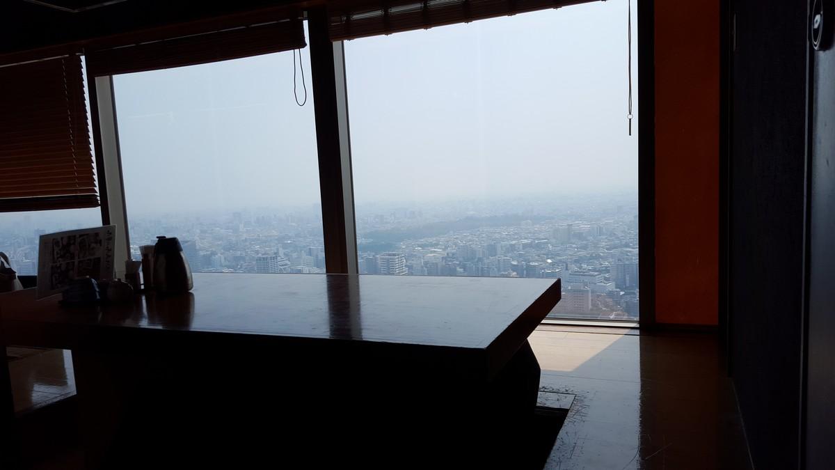 座席からの眺めは最高!【火の音水の音/恵比寿】