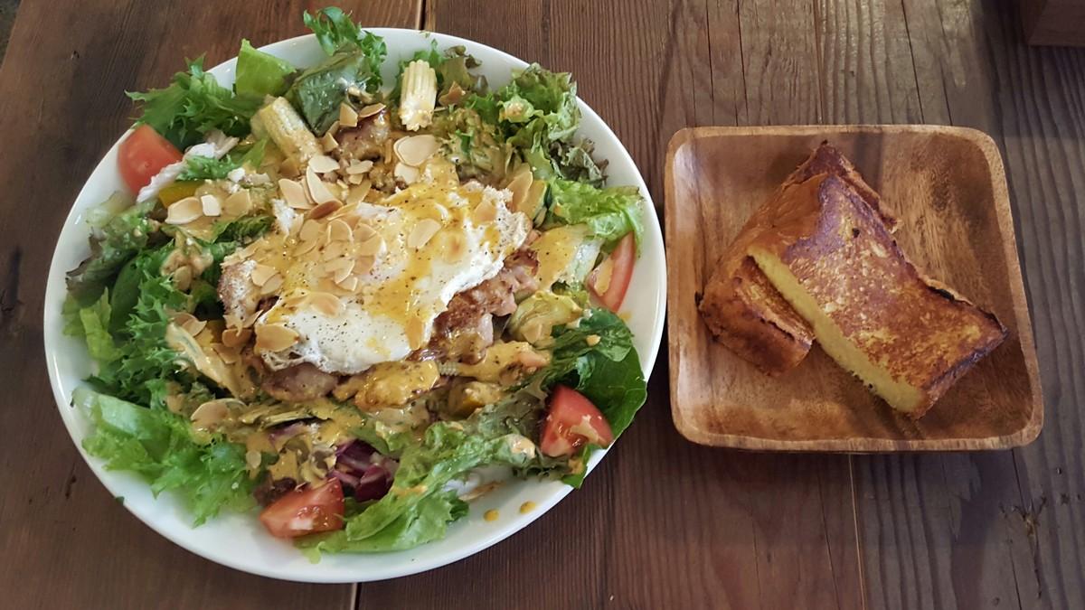 Main Dish Salad Lunch+フレンチトースト【マディソン ニューヨーク キッチン/恵比寿】