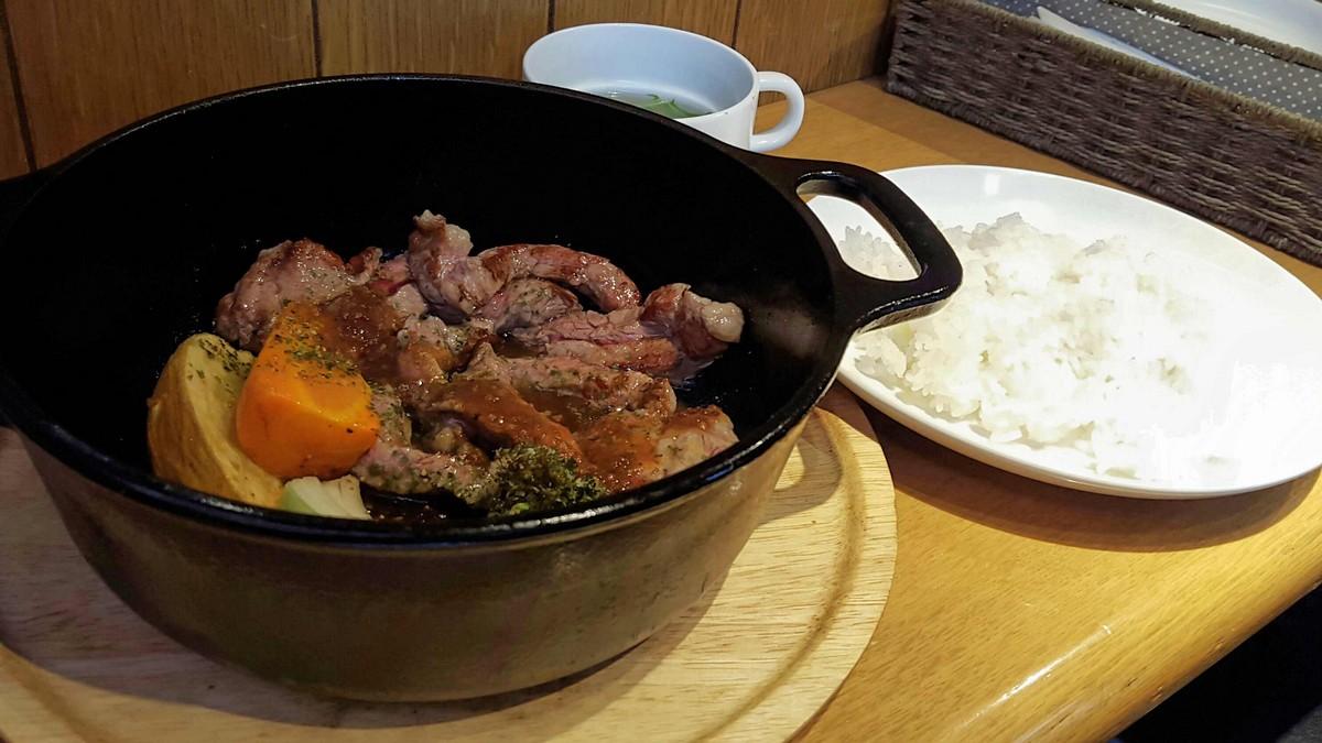 牛サーロインとゴロゴロ野菜ランチ【ラベンダーキッチン/自由が丘】