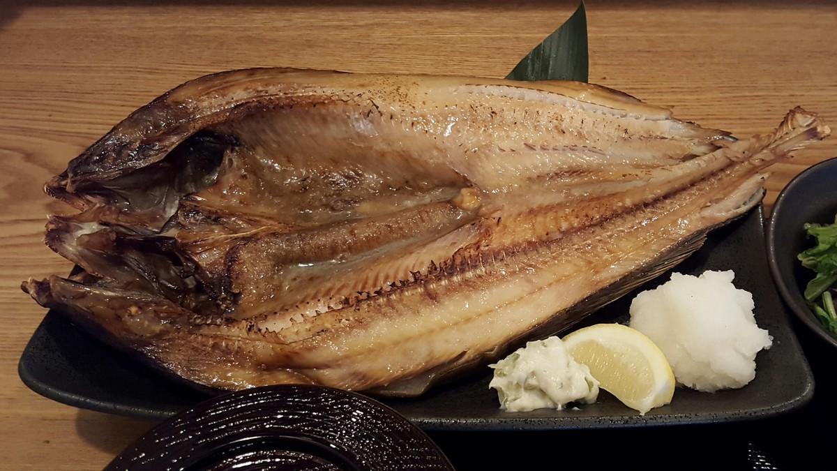 超特大ホッケ!【俺の魚を食ってみろ!! 神田分店/神田】