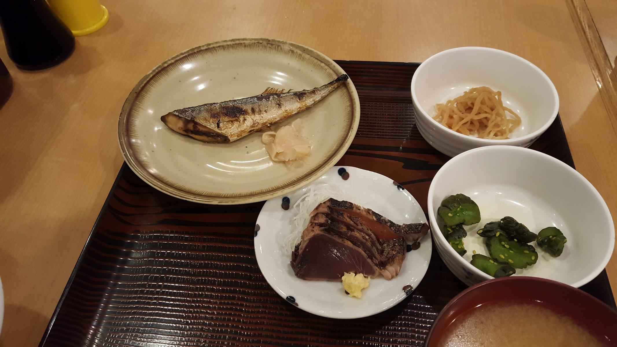 """""""かつおたたきと新さんま"""" 調理法の違う二種類の魚が一度に食べられる!【かぶき本店/神田】"""