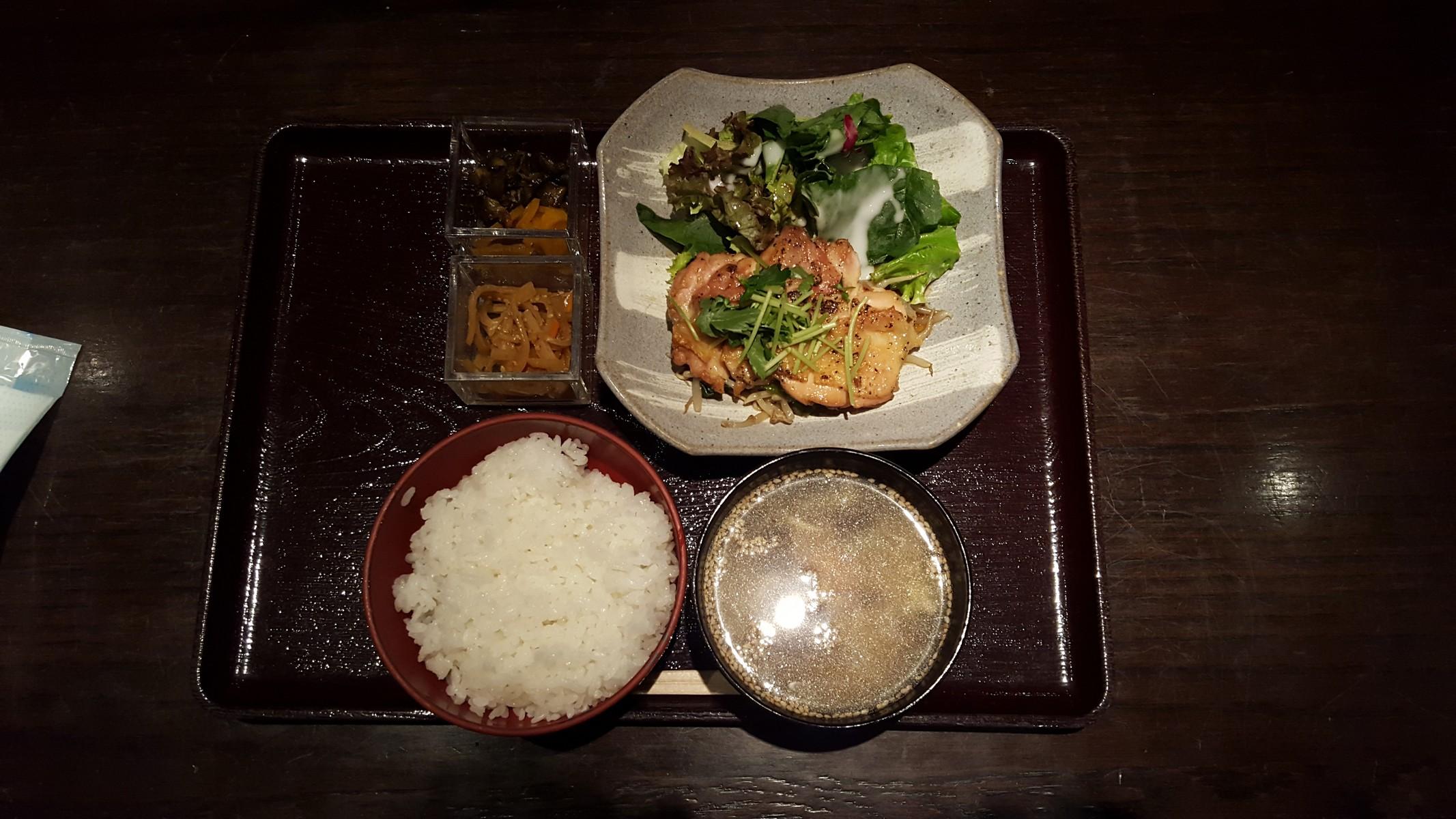 日替り定食【彩庵/神田】