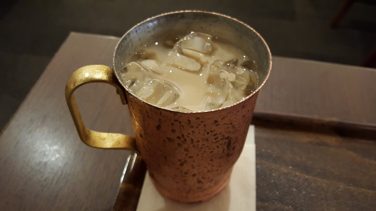 無糖ミルク珈琲【上島珈琲店/自由が丘】