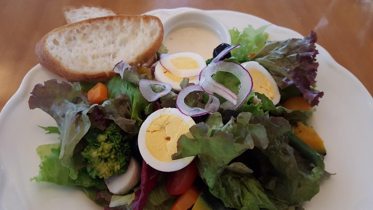 Yocco'sサラダ【Yocco's French Toast Cafe/自由が丘】