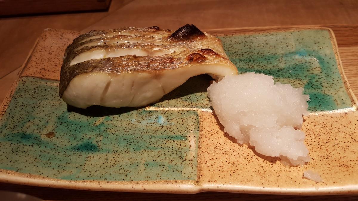 スズキの塩焼き【小割烹おはし/恵比寿】
