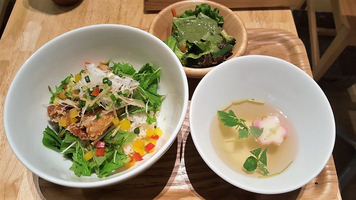 ごはんカフェAセット【神楽坂茶寮/武蔵小杉】