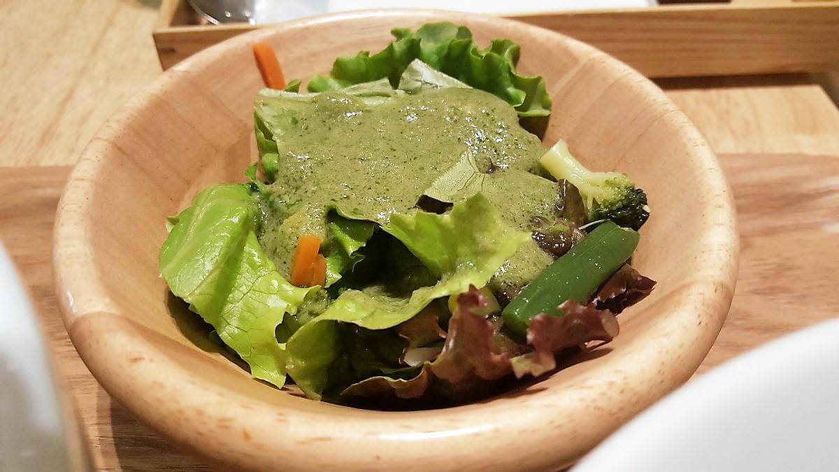 セットのサラダ【神楽坂茶寮/武蔵小杉】