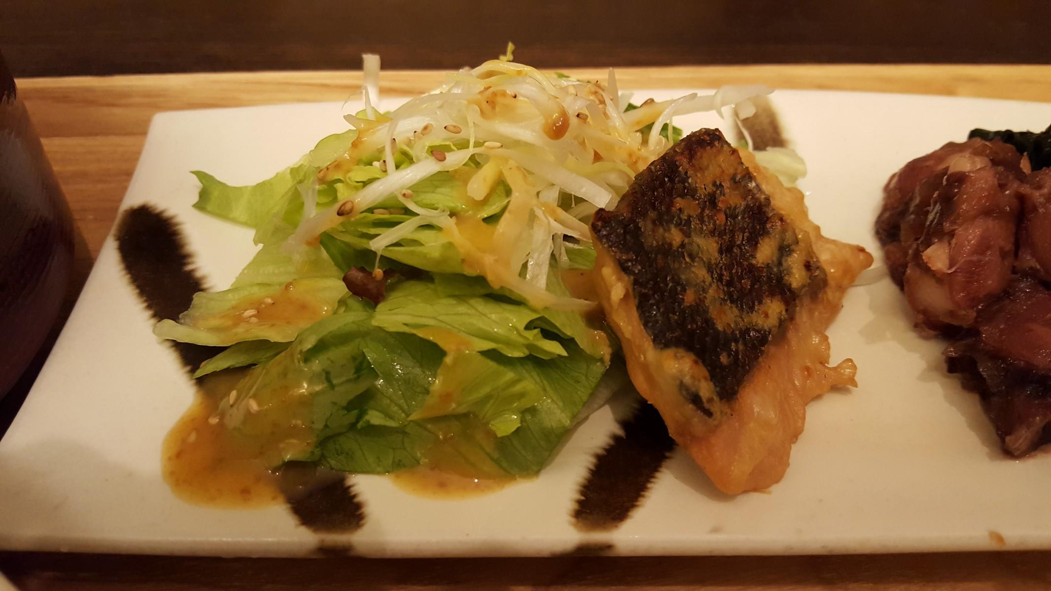 鮭の西京焼と煮物膳/西京焼き【ごはんcafe/日比谷】