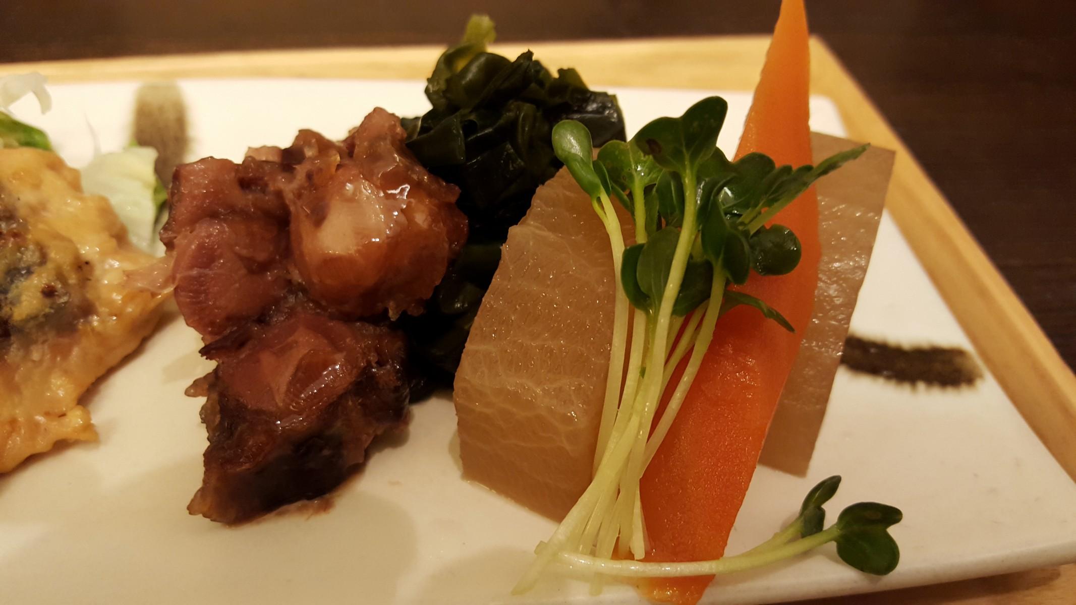 鮭の西京焼と煮物膳/煮物【ごはんcafe/日比谷】